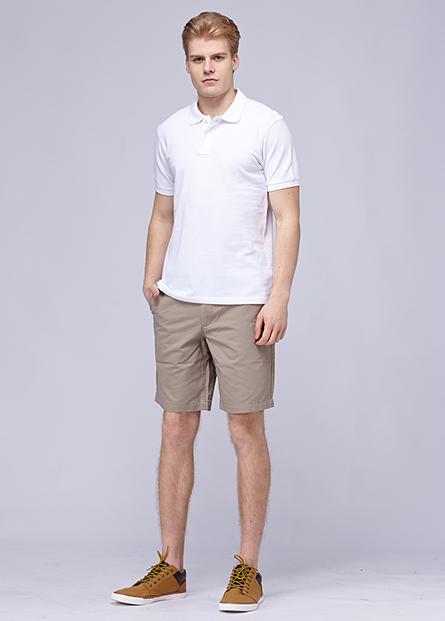 純棉素色POLO衫