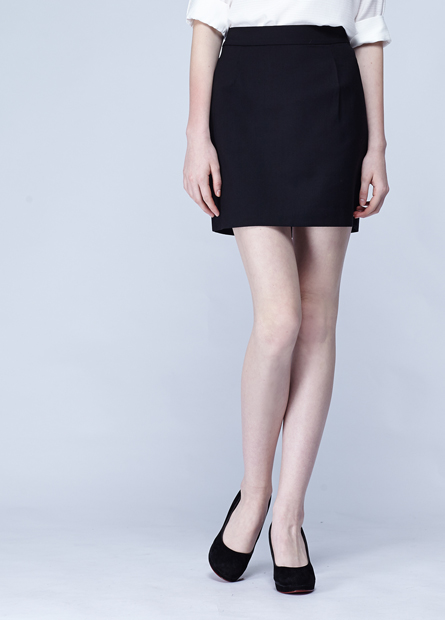 打摺上班族短裙