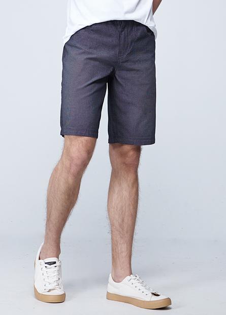 修身直筒短褲