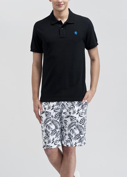 皇冠獅刺繡POLO衫