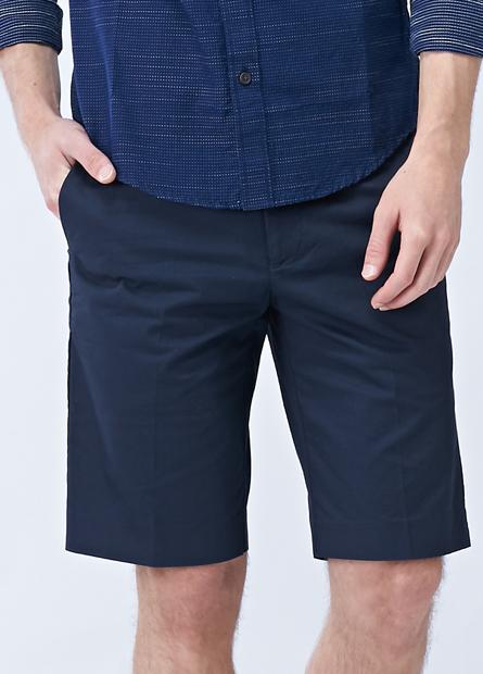 修身直筒五分短褲