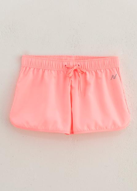 女童抽繩印花短褲