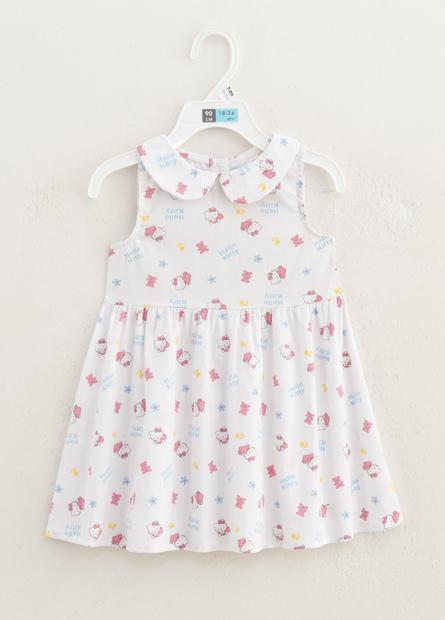 女嬰滿版KITTY洋裝