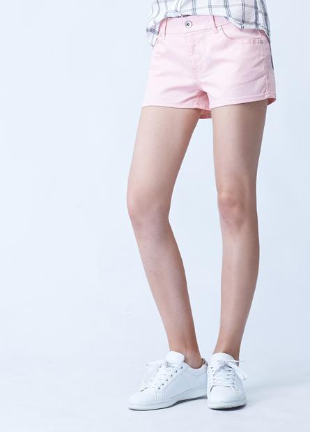 素色基本短褲