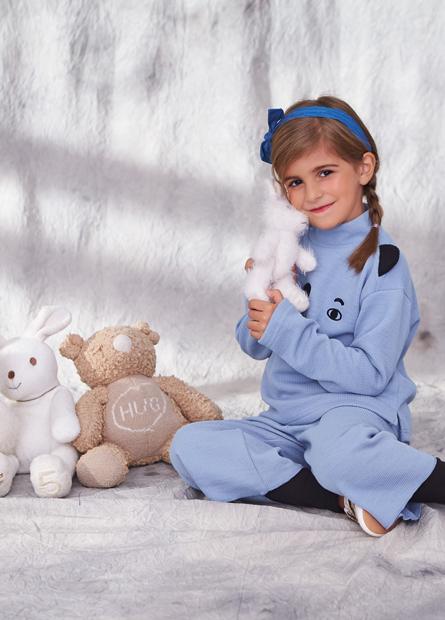 女童動物臉造型上衣