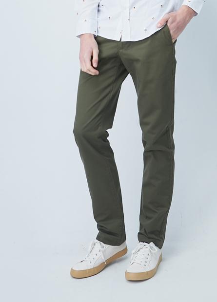 標準型斜紋布長褲