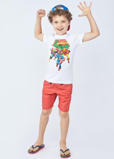 男童造型抽繩短褲