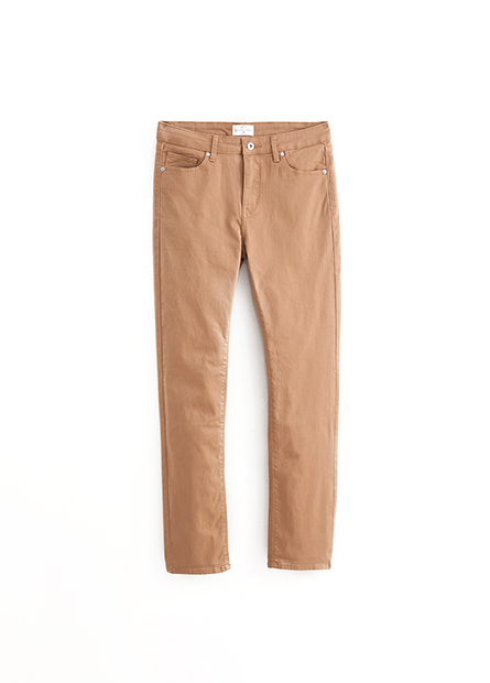 Slim Fit直筒多色牛仔褲