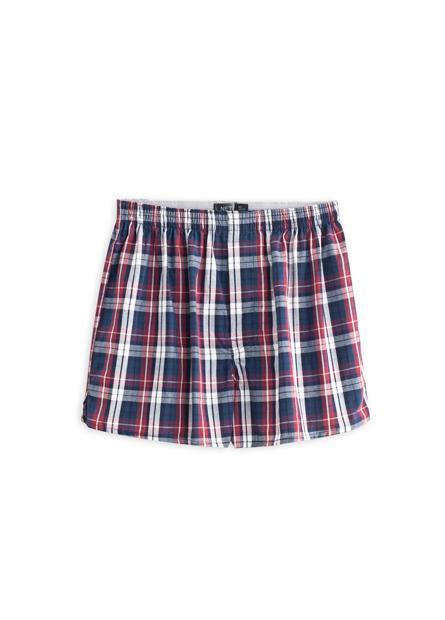 純棉條紋格紋四角內褲