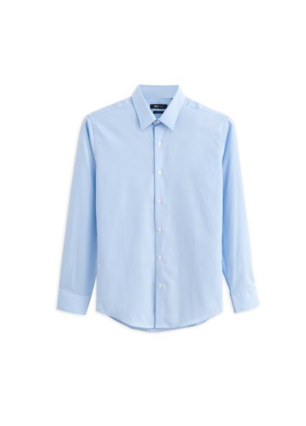 Slim Fit標準領長袖襯衫