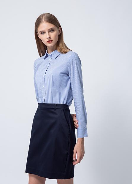 Regular Fit口袋商務短裙