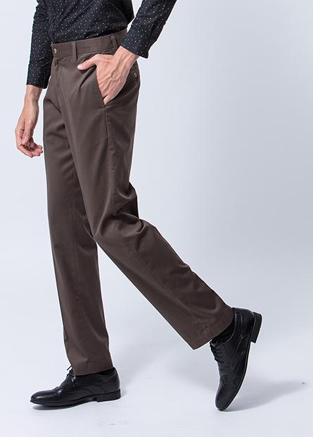 Classic Fit無摺防皺長褲