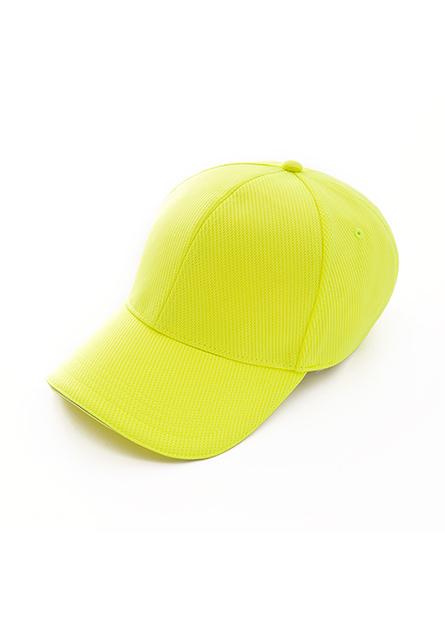 素色梅花網眼棒球帽