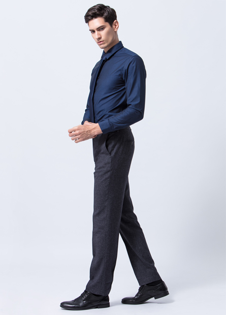 Regular Fit斜袋西裝褲