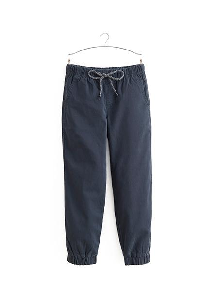 Regular Fit男童縮口長褲