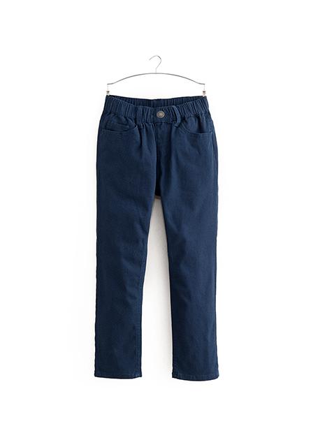 Slim Fit男童直筒長褲