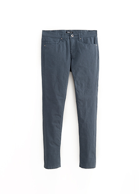 Skinny Fit窄管休閒長褲