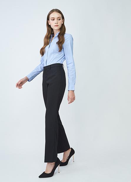 Regular fit商務西裝褲