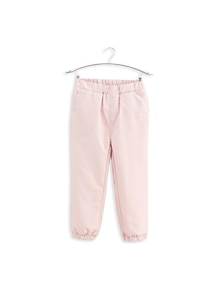 女嬰內刷毛縮口長褲