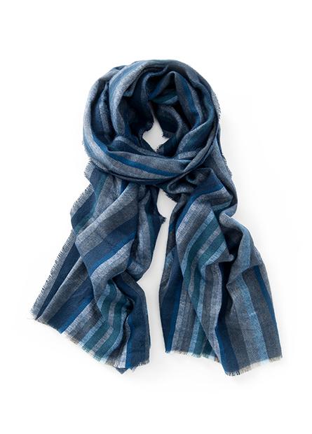 條紋格紋圍巾