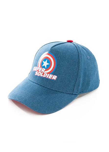男童漫威角色棒球帽