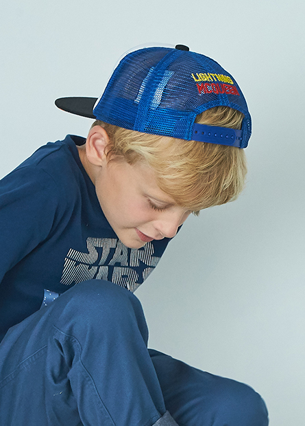 男童閃電麥坤棒球帽