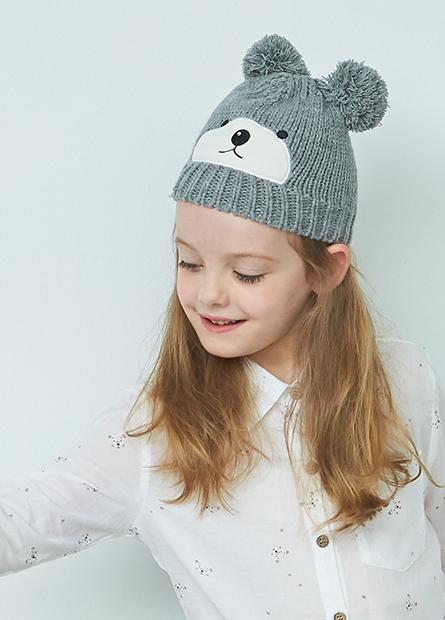 童動物造型毛線帽