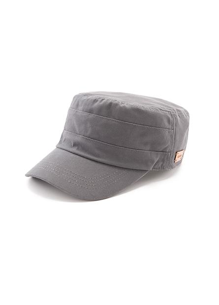 側邊皮標軍帽