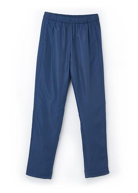 素色內刷毛防風長褲