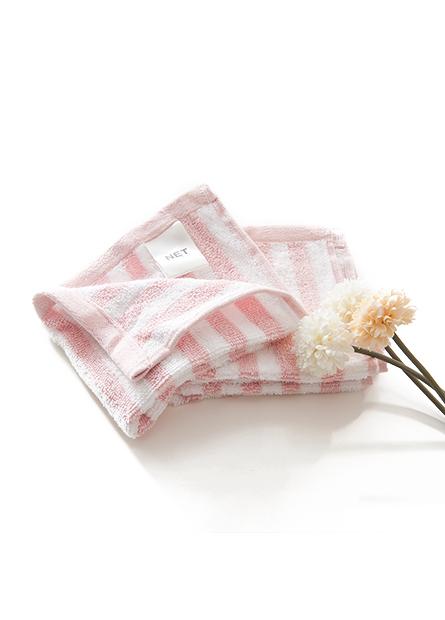 純棉條紋方巾(三入)