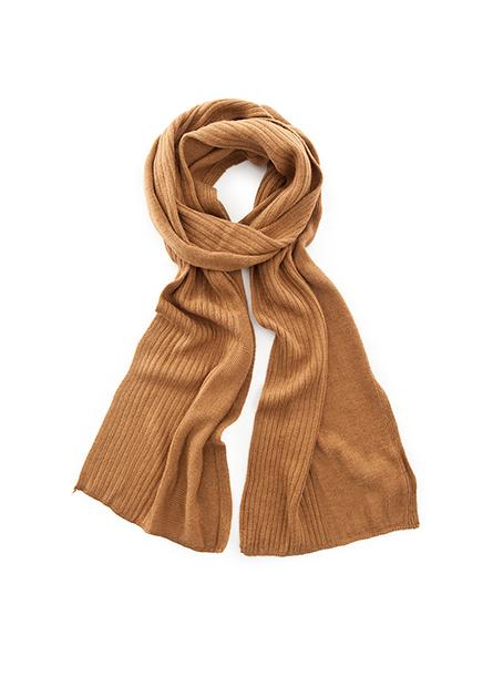 素色經編圍巾