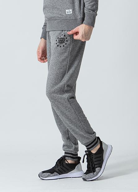 窄版內刷毛縮口長褲