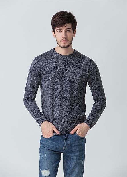 抗起毬雙層圓領毛衣