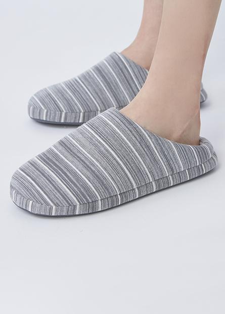 條紋室內拖鞋