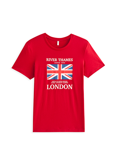 英國國旗字母T
