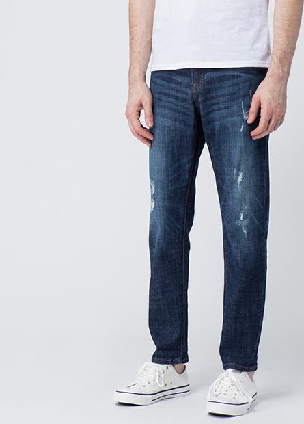 Slouch Fit寬鬆窄管牛仔褲