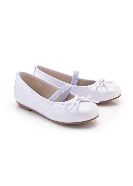女童蝴蝶結平底鞋