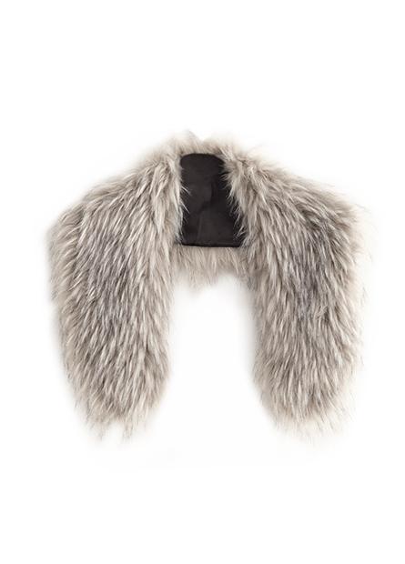 仿動物毛領巾