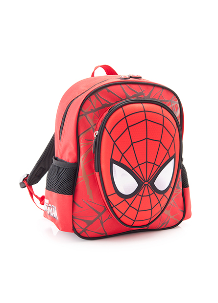 童立體蜘蛛人後背包