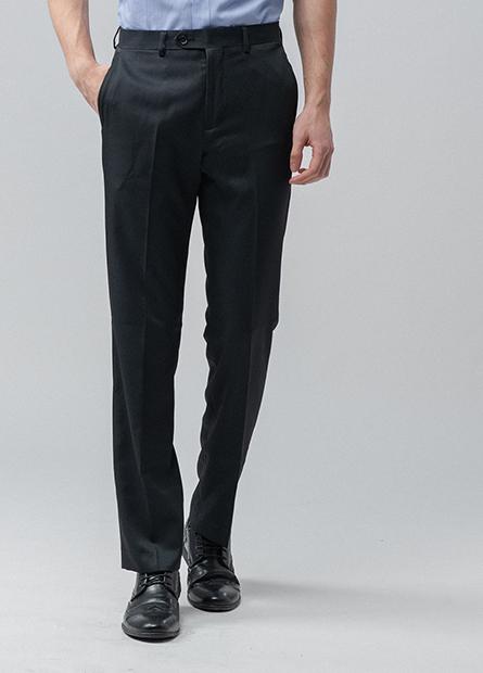 Regular Fit側口袋西褲