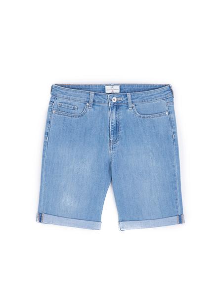 反摺牛仔短褲