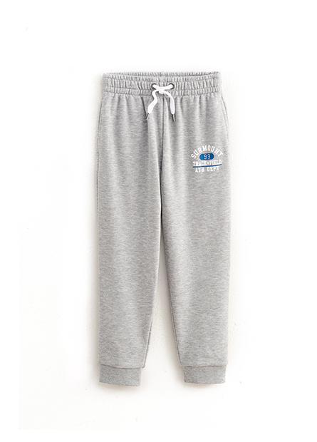 男童印字窄身縮口長褲