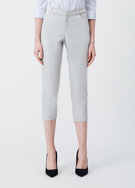 Slim Fit七分直筒西裝褲