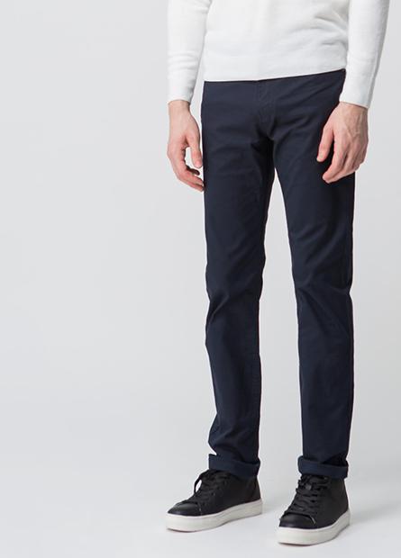 Slim Fit直筒長褲