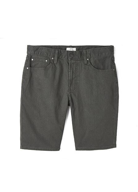 Regular Fit原色牛仔短褲