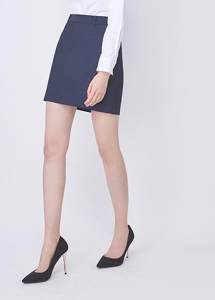標準口袋商務短裙