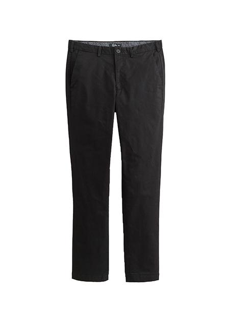 Slim Fit平口袋西裝褲
