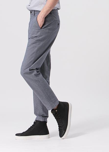 Slim Fit修身九分長褲