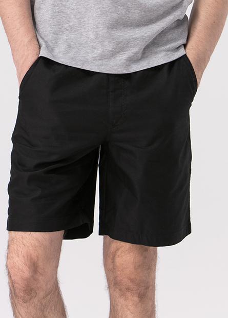 Classic Fit素色鬆緊短褲