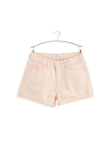 女童反摺牛仔短褲